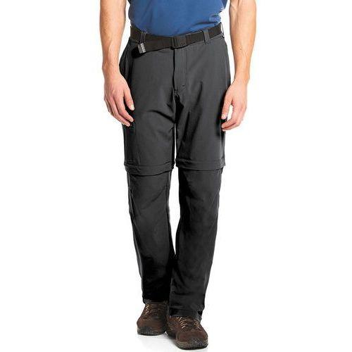 tajo spodnie długie mężczyźni czarny 58 2018 spodnie z odpinanymi nogawkami, Maier sports