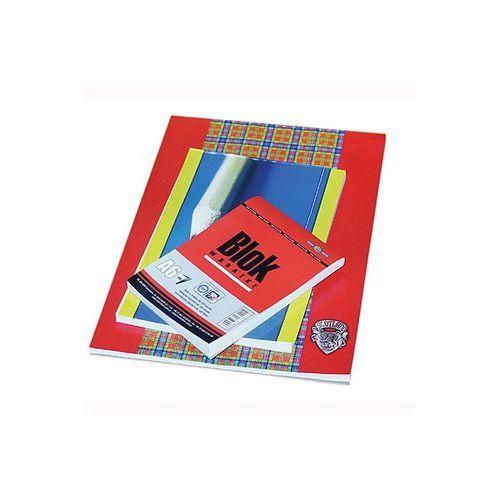 Blok biurowy w kratkę a5 50k. marki Interdruk