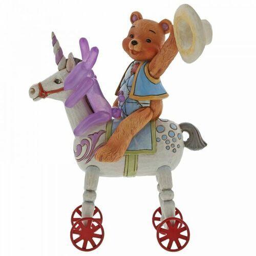 Miś i pies balonik oraz jednorożec - Razem zwyciężymy wszystko - Bear Hugs (Button Hugging Squeaky) 6005129 Jim Shore