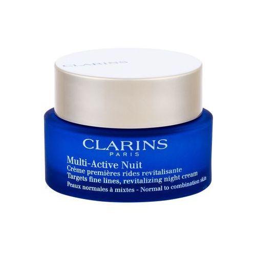 CLARINS MULTI-ACTIVE NUIT KREM DLA SKÓRY NORMALNEJ I MIESZANEJ 50 ML 30+