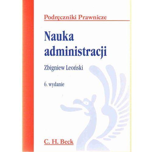 Nauka administracji (9788325511586)