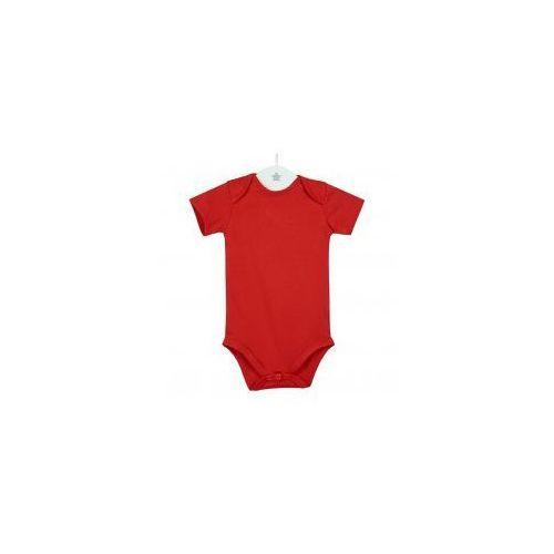 Dziecięce body krótki rękaw czerwone marki Dolce sonno