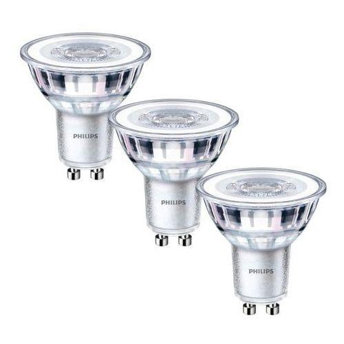 Żarówka LED Philips GU10 3,5 W 275 lm przezroczysta barwa zimna 3 szt., 929001218086