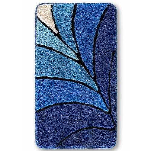 Dywaniki łazienkowe z wysokim runem niebieski marki Bonprix