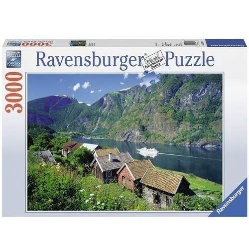 Ravensburger Raven. 3000 el. norwegia, sognefjord (4005556170630)