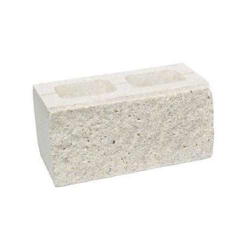 Ziel-bruk Pustak ścienno-cokołowy 39 x 20 x 19 cm betonowy dwustronnie łupany skała lubuska (5901171146786)