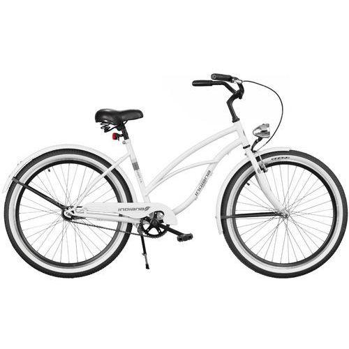 Rower INDIANA X-Cruiser 1.0 26 D Biały + 5 lat gwarancji na ramę! ()