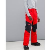 presena snow pant in red - red marki The north face