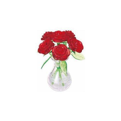 Crystal Puzzle Róże czerwone w wazonie BARD (4018928591711)