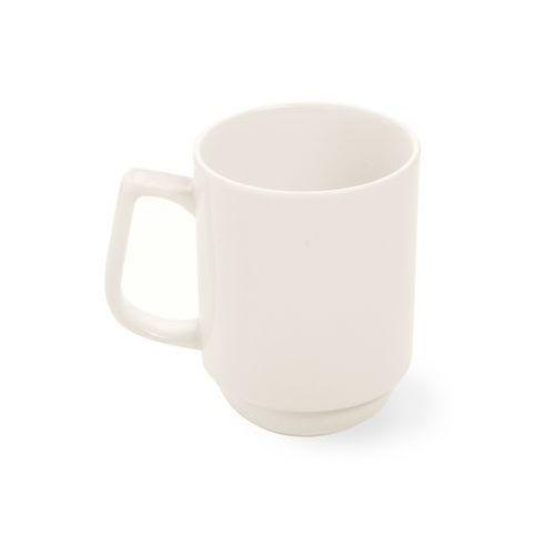 Kubek sztaplowany porcelanowy crema marki Fine dine