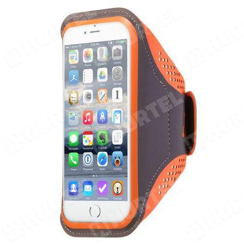 Armband do biegania opaska na ramię Samsung iPhone LG HTC Huawei L 5.5 cala pomarańczowa - Pomarańczowy - sprawdź w wybranym sklepie