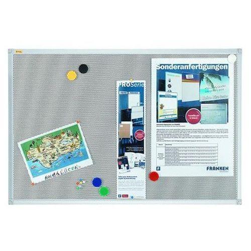 Tablica magnetyczno-tekstylna xtra!line, 120x90cm, rama aluminiowa marki Franken
