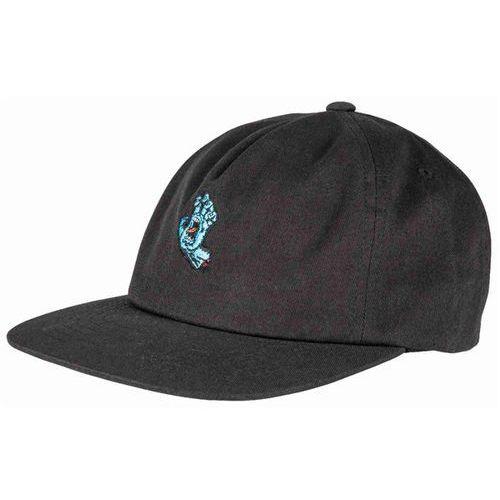 czapka z daszkiem SANTA CRUZ - Screaming Mini Hand Cap Black (BLACK) rozmiar: OS, kolor czarny