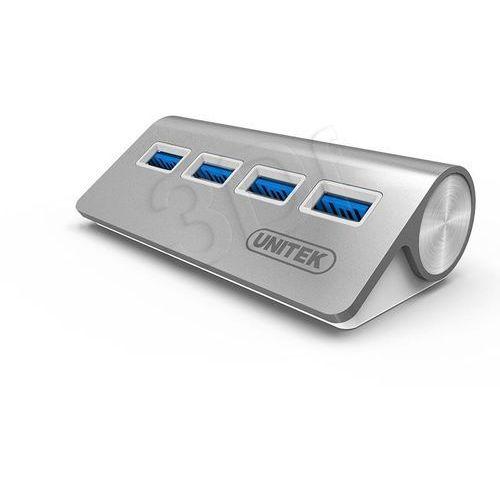 Unitek Hub 4x USB 3.0 ALUMINIOWY; Y-3186, 463755