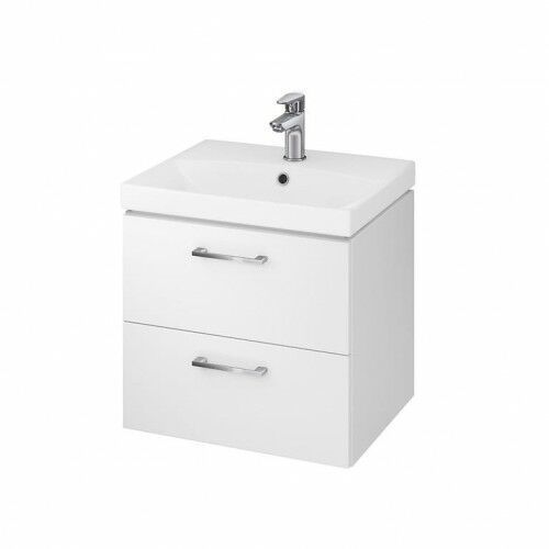 CERSANIT LARA Zestaw szafka + umywalka City 50, biały S801-141-DSM, S801-141-DSM