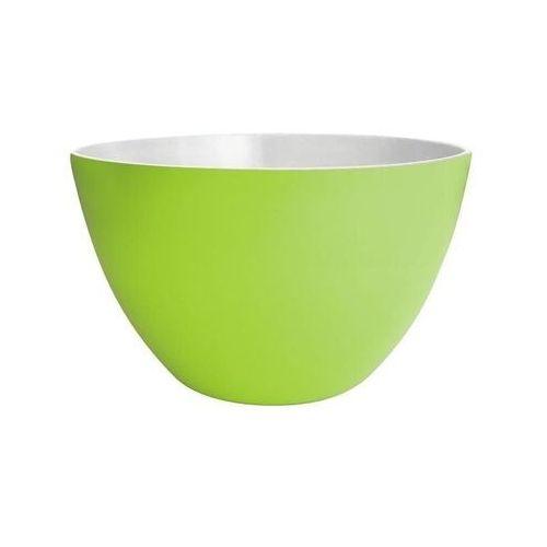 Zak! designs - miska dwukolorowa - biało - zielona - mała marki Zak!designs