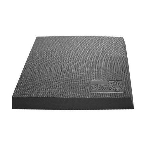 Trener równowagi (poduszka równoważna prostokątna), grafitowy mambo balance pad 05-040303 marki Msd