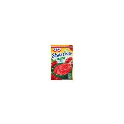 Dr. oetker Kisiel z kawałkami owoców smak wiśniowy słodka chwila 31,5 g (5900437037233)