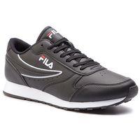 Sneakersy FILA - Orbit Low 1010263.25Y Black, kolor czarny