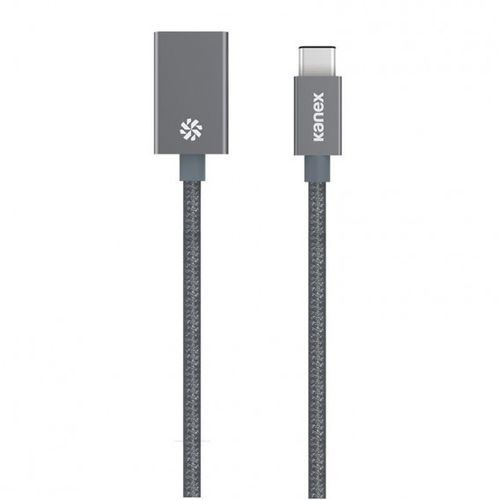 Kanex przejściówka DuraBaid™ Aluminium z USB-C na USB 3.0 (Space Grey), KU3CAPV1-SG.