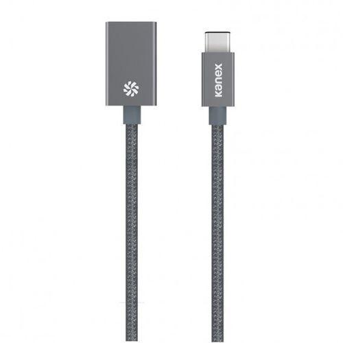 Kanex przejściówka DuraBaid™ Aluminium z USB-C na USB 3.0 (Space Grey)