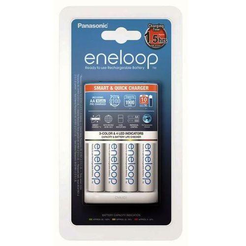 eneloop bq-cc55 + 4 x r6/aa eneloop 2000mah bk-3mcce marki Panasonic