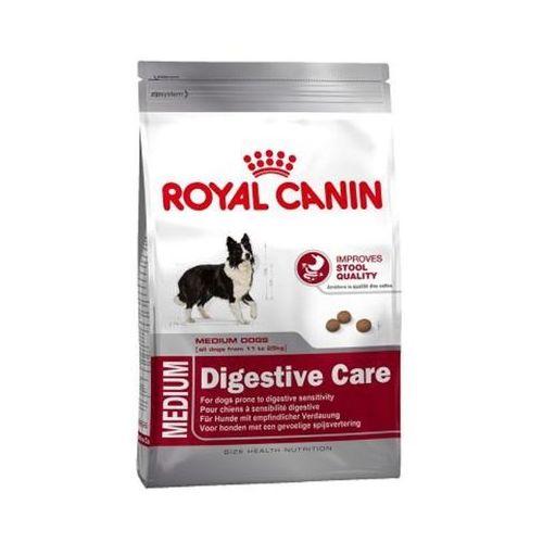 Karma  medium digest care 15kg 3182550853408 - odbiór w 2000 punktach - salony, paczkomaty, stacje orlen marki Royal canin
