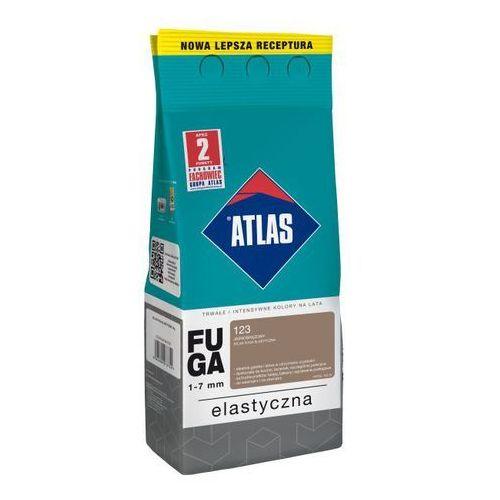 Atlas Fuga cementowa 123 jasnobrązowy 2 kg