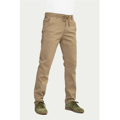 Spodnie - reflex easy pant dark sand canvas (262) rozmiar: l normal marki Reell