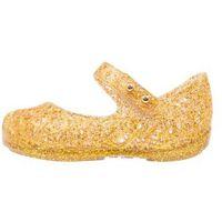 Melissa CAMPANA ZIG ZAG Baleriny z zapięciem gold glitter, 31510
