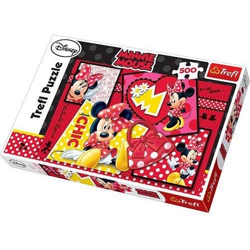 Puzzle 500 Minnie kolaż (5900511371598)