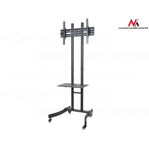 profesjonalny stand wózek do telewizora na kółkach mc-718 max 40 kg max 600x400 - mc-718 - mc-718 darmowy odbiór w 20 miastach!, marki Maclean
