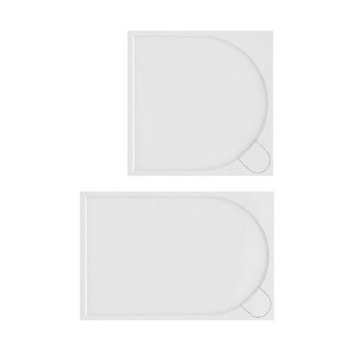 New trendy Brodzik prostokątny z konglomeratu 80x120 fluo b-0354 uzyskaj rabat w sklepie