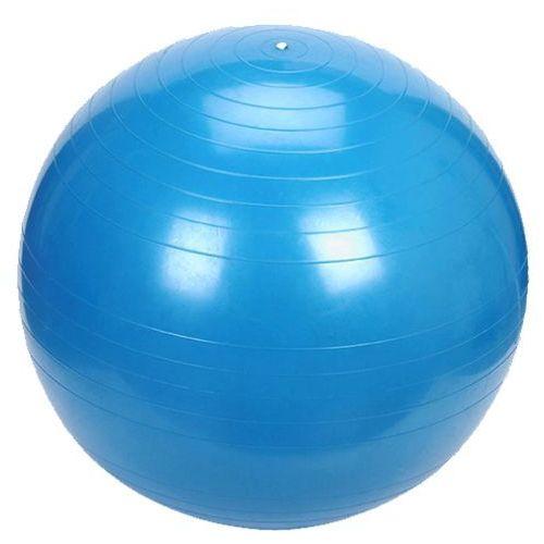 Platinium classic 65 niebieska - piłka fitness - niebieski