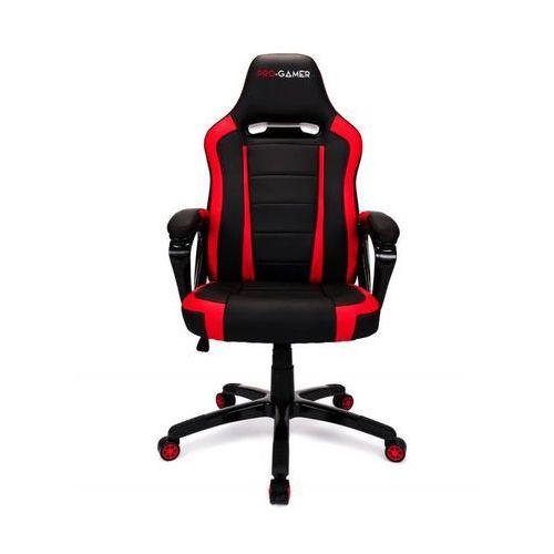 Fotel gamingowy atilla czerwony dla graczy marki Pro-gamer