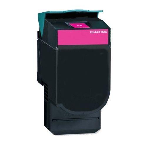 Toner zamiennik Lexmark C544X2MG Purpurowy