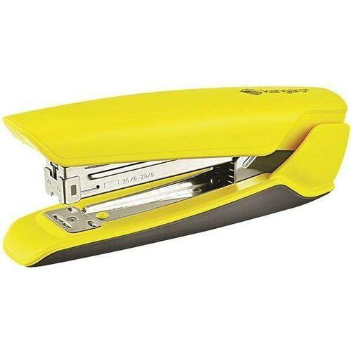Kangaro Zszywacz nowa-335/s, zszywa do 30 kartek, plastikowy, w pudełku pp, żółty (8901057310482)