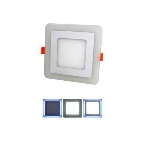 LED Oprawa wpuszczana LED/6W+LED/2,5W 6000K