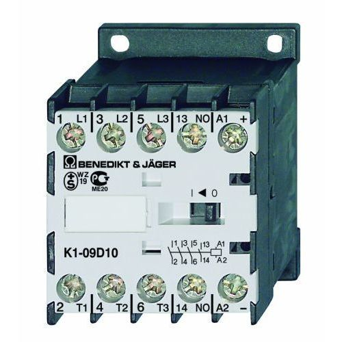 3 polowy / 4kw / 9a / 24v ac / 1r k1-09d01 24 marki Benedict&jager