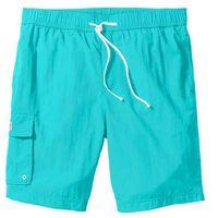 Bermudy plażowe z kieszenią z boku nogawki regular fit morski marki Bonprix