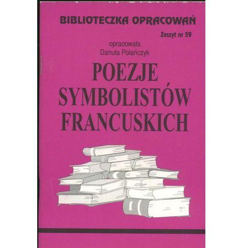 Biblioteczka opracowań Poezje symbolistów francuskich, Biblios