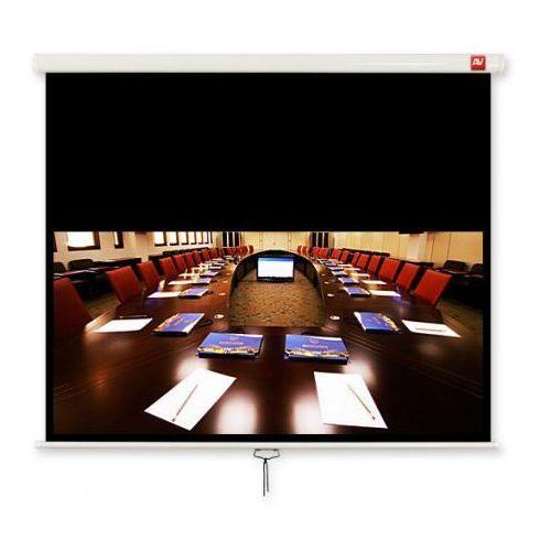 ekran ścienny ręczny business 200. 16:10. 190x119cm. powierzchnia biała. matowa - bez zakładania konta - ekspresowe zakupy! marki Avtek