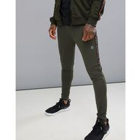 Jack & Jones Core Perfromance Track Bottoms With Side Tape - Green, w 2 rozmiarach