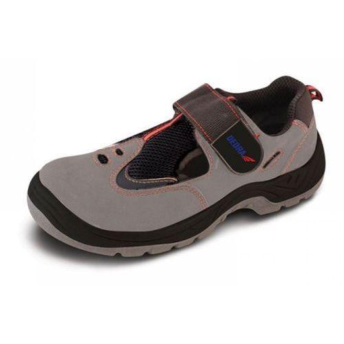 Sandały bezpieczne bh9d2-42 (rozmiar 42) + darmowy transport! marki Dedra