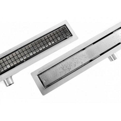 Rea Neo&Pure odpływ liniowy 80 cm z kołnierzem REA-G0093, REA-G0093