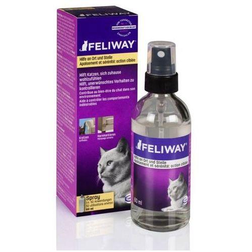 Feliway Feromony kojące dla kotów spray 60ml