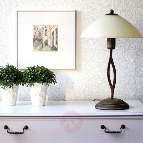 Steinhauer capri lampa stołowa brązowy, 1-punktowy - nowoczesny - obszar wewnętrzny - capri - czas dostawy: od 4-8 dni roboczych