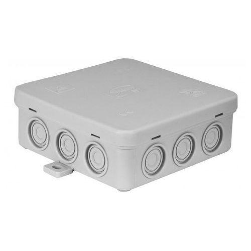 Import Fastbox n7 puszka instalacyjna naścienna z dławicą zintegrowaną, samozatrzaskowa ip54 simet