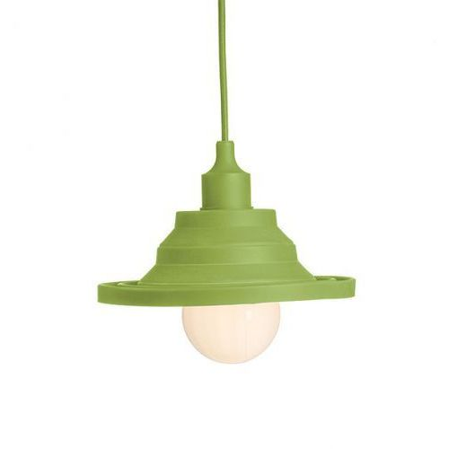 Lampa wisząca amici silikonowa zielona, r10620 marki Redlux