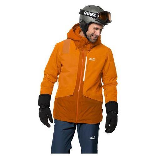Męska kurtka narciarska BIG WHITE JACKET M rusty orange - L